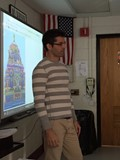 Mr. Zach Smith spoke to the Middle School students.  image