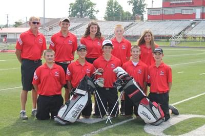 2014-2015 High School Golf Team
