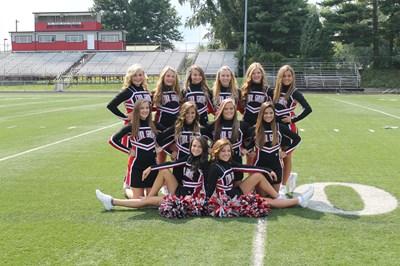 2014-2015 High School Cheerleaders