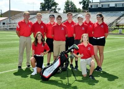 2015-2016 High School Golf Team