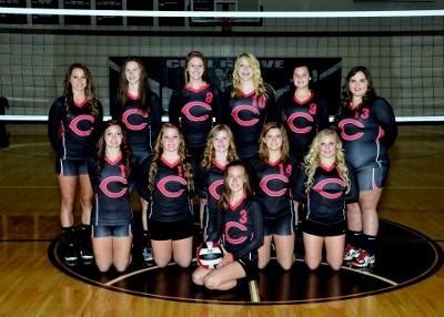 2015-2016 High School Varsity Volleyball Team