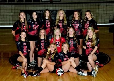 2015-2016 High School JV Volleyball Team