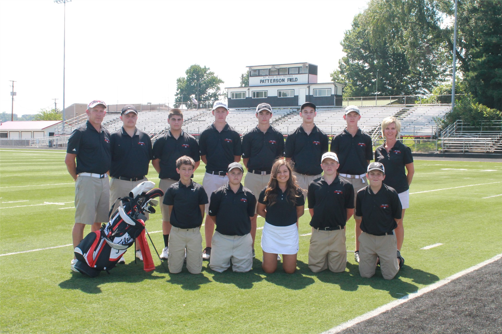 2016-2017 High School Golf Team