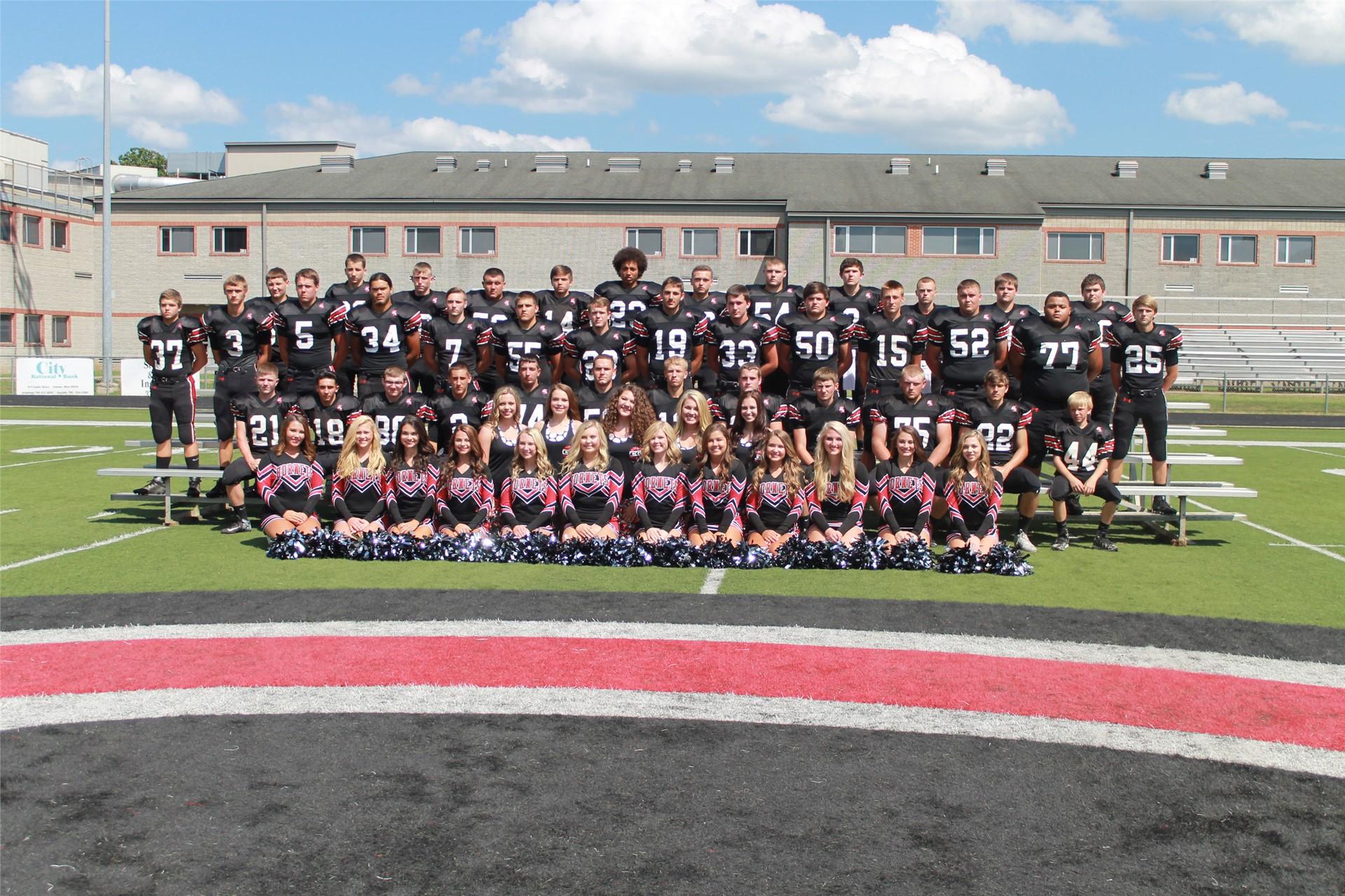 2016-2017 High School Football Team