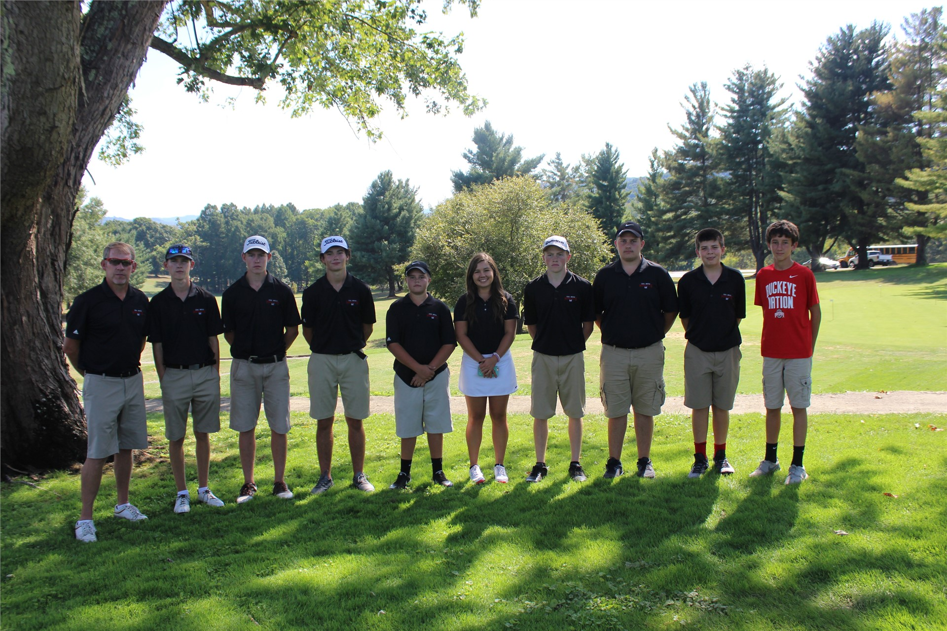 2016 High School Golf Team - OVC Match