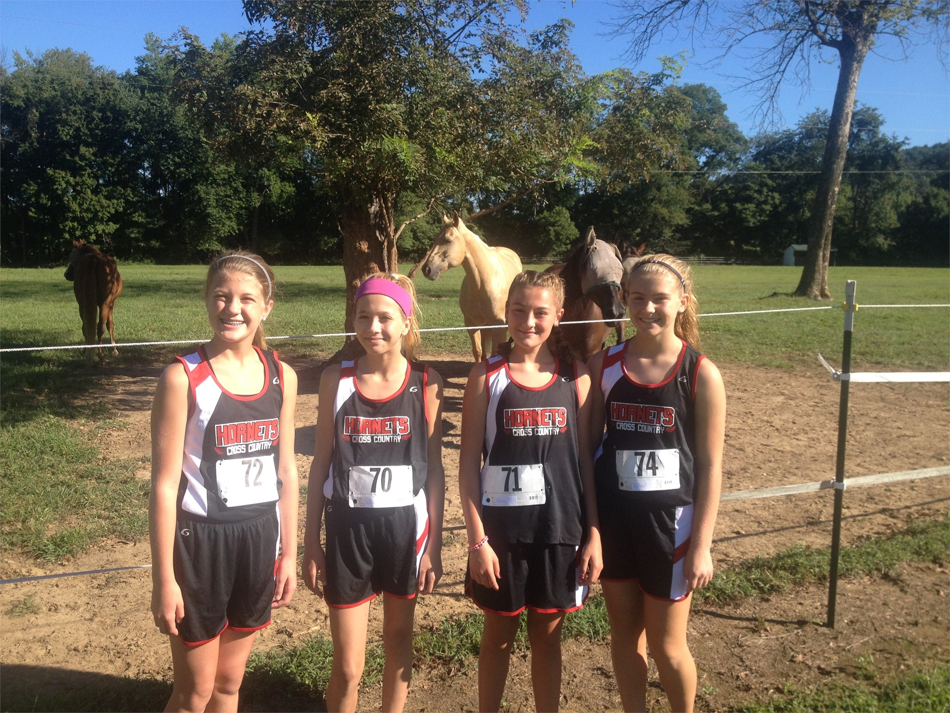 Middle School Cross Country 2016