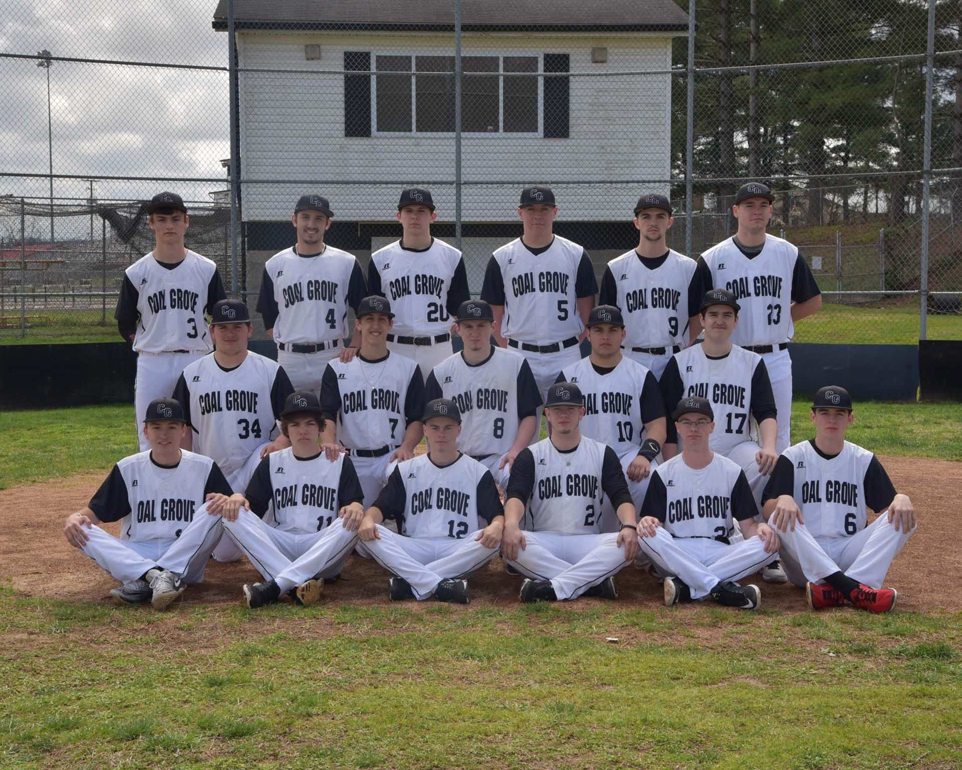 High School Varsity Baseball Team 2017